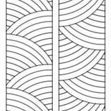 Άσπρη διακόσμηση κύκλων Στοκ φωτογραφία με δικαίωμα ελεύθερης χρήσης
