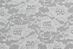 Άσπρη Floral δαντέλλα Στοκ φωτογραφία με δικαίωμα ελεύθερης χρήσης