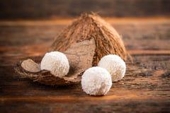 Άσπρη marshmallow σοκολάτας χιονιά Στοκ Εικόνες