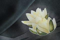 Άσπροι κρίνοι νερού διανυσματική απεικόνιση