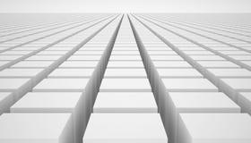 Άσπροι κύβοι Στοκ Φωτογραφίες
