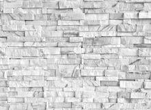 Άσπροι τοίχοι γρανίτη σύστασης υποβάθρου κεραμιδιών πετρών Στοκ Εικόνες