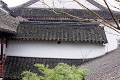 Άσπροι τοίχοι και μαύρο φάσμα κεραμίδι-Qingyun Στοκ φωτογραφία με δικαίωμα ελεύθερης χρήσης