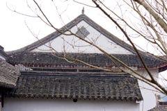 Άσπροι τοίχοι και μαύρο φάσμα κεραμίδι-Qingyun Στοκ φωτογραφίες με δικαίωμα ελεύθερης χρήσης
