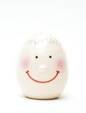 άσπρος λέκιθος κοχυλιών ανασκόπησης απομονωμένος αυγό Στοκ φωτογραφία με δικαίωμα ελεύθερης χρήσης