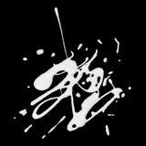 Άσπρος λεκές χρωμάτων Στοκ εικόνες με δικαίωμα ελεύθερης χρήσης