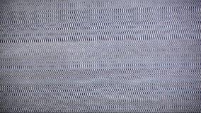 Άσπρος θόρυβος TV με τον ήχο. απόθεμα βίντεο