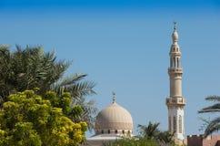 Άσπρος θόλος του Αμπού Νταμπί στοκ εικόνες με δικαίωμα ελεύθερης χρήσης