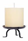άσπρος κίτρινος κεριών Στοκ Φωτογραφίες