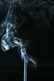 Άσπρος καπνός Στοκ Φωτογραφίες