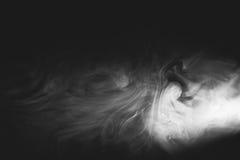 Άσπρος καπνός Στοκ Εικόνες