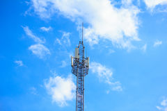 Άσπρος κυψελοειδής πύργος Στοκ Εικόνες