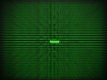 Άσπρος κωδικός πρόσβασης μεταξύ 0 και 1 Στοκ Εικόνες