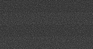 Άσπρος λαβύρινθος στο μαύρο υπόβαθρο Έννοια παιχνιδιών λαβυρίνθου Αφηρημένη έννοια υποβάθρου διοικητικών μεριμνών Έννοια επιχειρη διανυσματική απεικόνιση