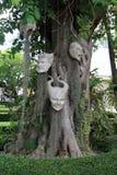 Άσπρος ναός της Ταϊλάνδης Chiang Rai Στοκ Εικόνες