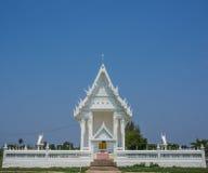 Άσπρος ναός στοκ φωτογραφία με δικαίωμα ελεύθερης χρήσης