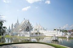 Άσπρος ναός, khun ναός Rong Στοκ εικόνες με δικαίωμα ελεύθερης χρήσης
