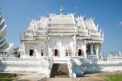 Άσπρος ναός, Wat Rong khun, Chiangrai Στοκ φωτογραφία με δικαίωμα ελεύθερης χρήσης