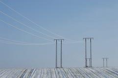 Άσπρος παγετός Στοκ φωτογραφία με δικαίωμα ελεύθερης χρήσης