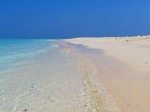 Άσπρος παράδεισος άμμου Στοκ φωτογραφίες με δικαίωμα ελεύθερης χρήσης