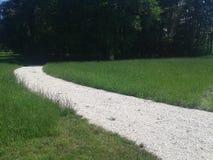 Άσπρος δρόμος στοκ εικόνες