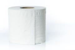 Άσπρος ρόλος πετσετών Στοκ Εικόνες