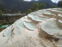 Άσπρος σταθμός νερού shangri-Λα στοκ φωτογραφία