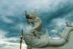 Άσπρος στόκος Naga Στοκ φωτογραφία με δικαίωμα ελεύθερης χρήσης