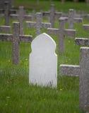 Άσπρος τάφος μουσουλμάνος σε Vieil Armand, Γαλλία Στοκ Εικόνα