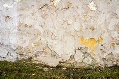 Άσπρος τοίχος ασβεστοκονιάματος Στοκ φωτογραφίες με δικαίωμα ελεύθερης χρήσης