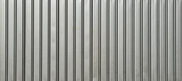 Άσπρος τοίχος μετάλλων Στοκ εικόνα με δικαίωμα ελεύθερης χρήσης