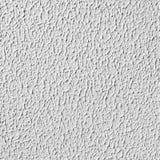 Άσπρος τοίχος με το ασβεστοκονίαμα, άνευ ραφής σύσταση Στοκ Εικόνα