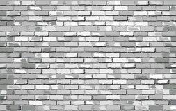 Άσπρος τουβλότοιχος Στοκ εικόνα με δικαίωμα ελεύθερης χρήσης