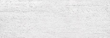 Άσπρος τουβλότοιχος Grunge, ασπρισμένο υπόβαθρο πλινθοδομής στοκ φωτογραφία