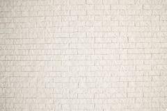 Άσπρος τουβλότοιχος για τη σύσταση εσωτερικού ή εξωτερικού Στοκ εικόνες με δικαίωμα ελεύθερης χρήσης