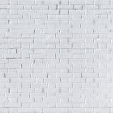 Άσπρος τουβλότοιχος για το υπόβαθρο Στοκ εικόνες με δικαίωμα ελεύθερης χρήσης