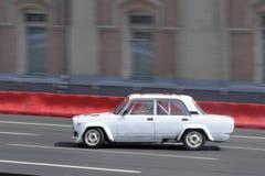 Άσπρος sportcar Στοκ Φωτογραφίες