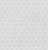 Άσπρο άνευ ραφής πρότυπο υφάσματος. Στοκ φωτογραφία με δικαίωμα ελεύθερης χρήσης