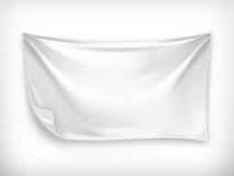 Άσπρο έμβλημα Στοκ εικόνα με δικαίωμα ελεύθερης χρήσης