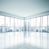 Άσπρο ανοικτό γραφείο σχεδίων Στοκ Φωτογραφίες