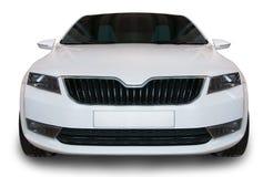 Άσπρο αυτοκίνητο Στοκ Εικόνες