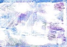 Άσπρο αφηρημένο υπόβαθρο watercolor φαντασμάτων Στοκ Εικόνες