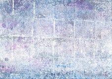 Άσπρο αφηρημένο υπόβαθρο watercolor φαντασμάτων Στοκ φωτογραφία με δικαίωμα ελεύθερης χρήσης