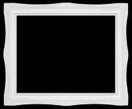 Άσπρο εκλεκτής ποιότητας πλαίσιο ύφους Στοκ εικόνα με δικαίωμα ελεύθερης χρήσης
