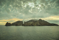 Άσπρο ηφαίστειο NZ Στοκ Εικόνες