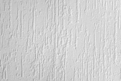 Άσπρο διακοσμητικό ασβεστοκονίαμα ή υγρή ταπετσαρία Β πολυμερούς λήξης Στοκ Εικόνα
