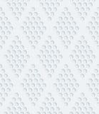 Άσπρο διατρυπημένο έγγραφο Στοκ Εικόνα