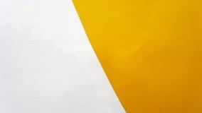 Άσπρο κίτρινο παλαιό μέταλλο Στοκ Φωτογραφία