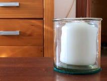 Άσπρο κερί Στοκ εικόνα με δικαίωμα ελεύθερης χρήσης