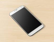 Άσπρο κινητό τηλέφωνο Στοκ εικόνες με δικαίωμα ελεύθερης χρήσης